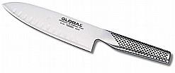 סכין שף רחב חריצים 18 ס