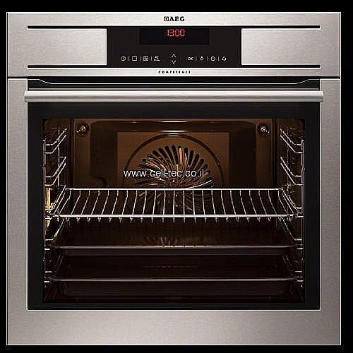 מיוחדים תנור בנוי AEG דגם BP7304001M פירוליטי ZV-55